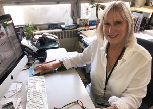 a photo of Toni Ziegler, former head of Assay Services